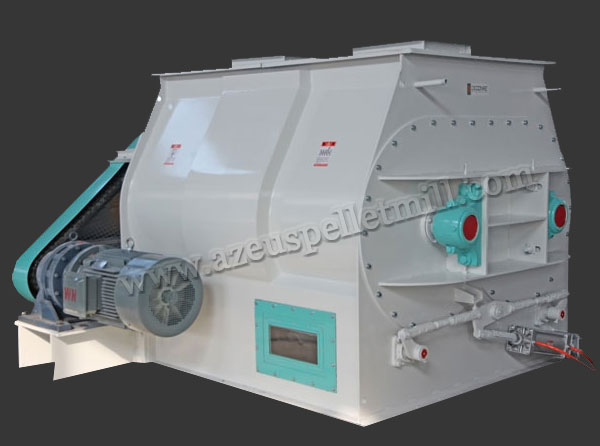 double padder feed mixing machine