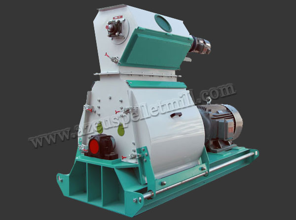 wide chamber feed pellet mill