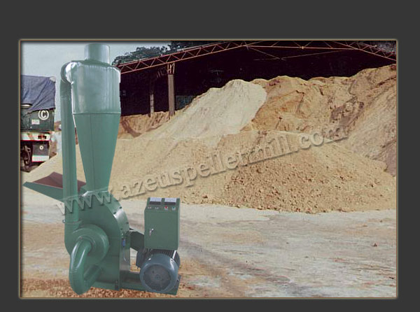 electric wood hammer mill for making sawdust
