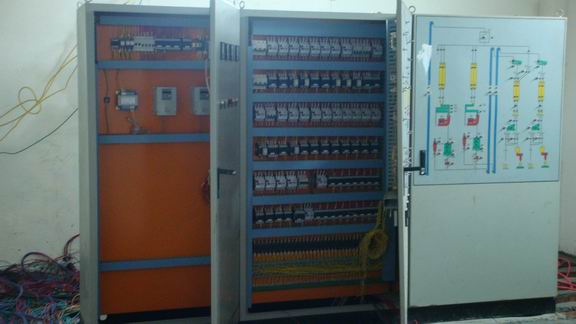 feed pellet plant control cabinet