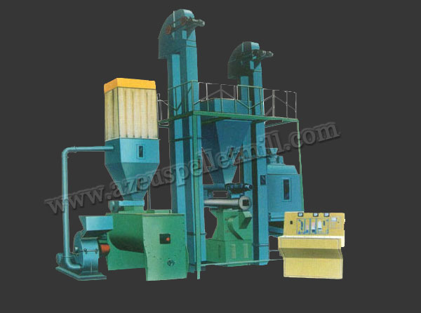 1 T/H chicken feed pellet plant